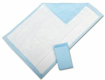 Protection Plus Fluff-Filled Underpads